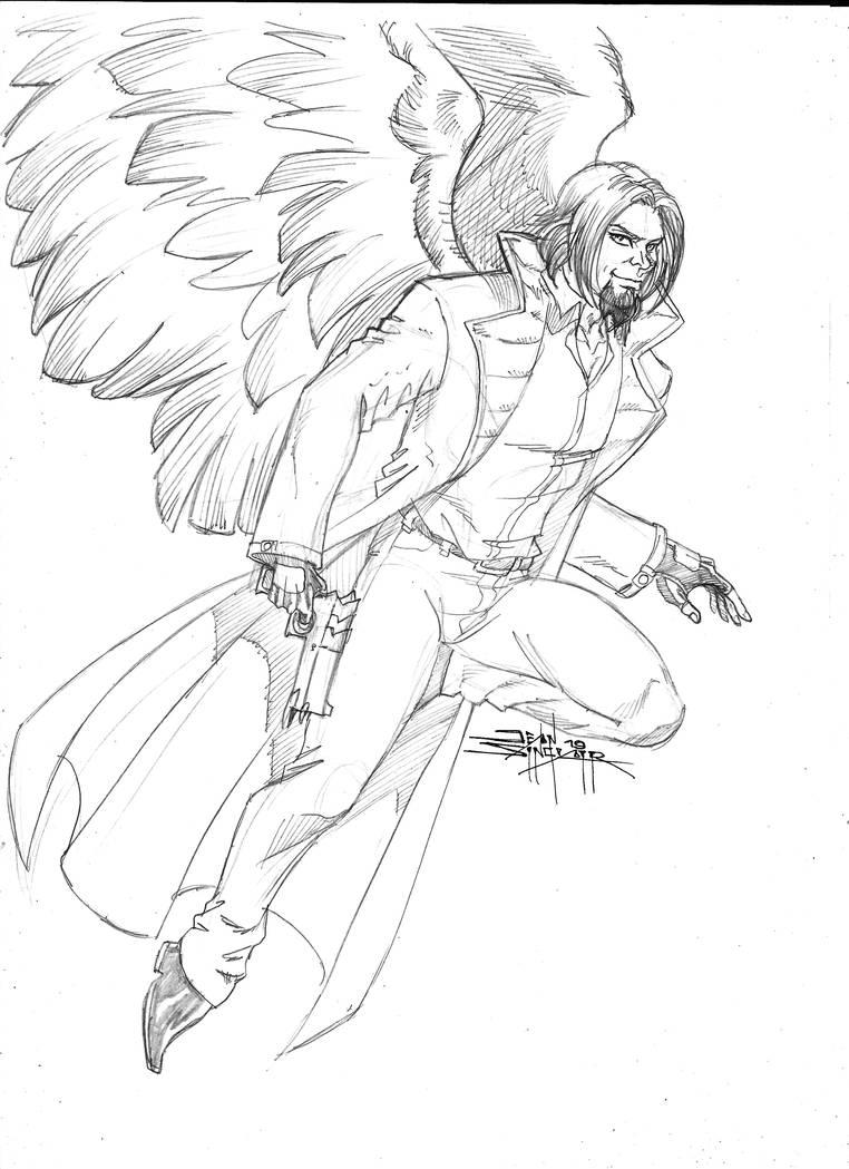 Old Harry Angel by Foxy-Knight