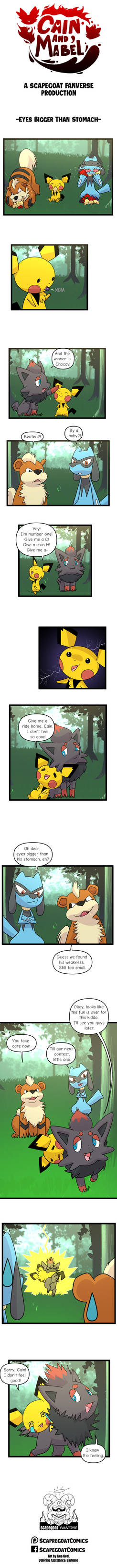 Cain and Mabel A Pokemon Webcomic Page 14