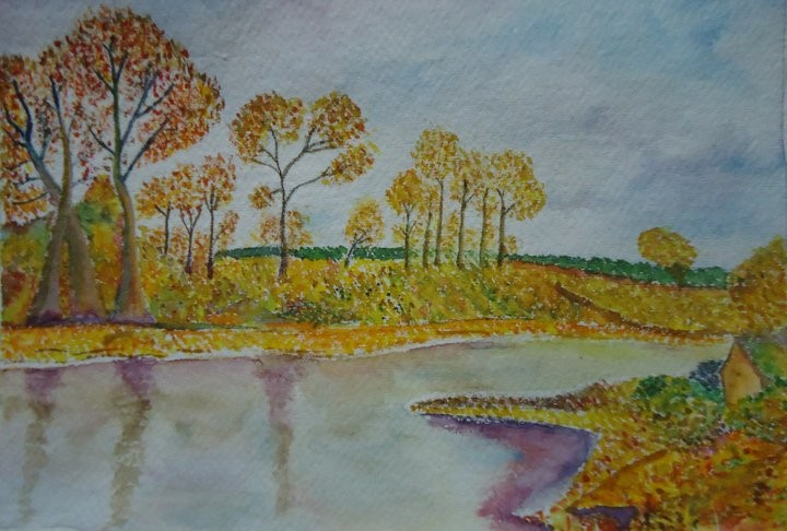Landscape Scenery Painting By Siddhiki On Deviantart