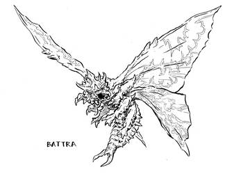 Battra by stockmanray