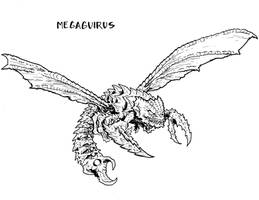 Megaguirus by stockmanray