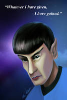 Spock Tribute by thedarkgecko