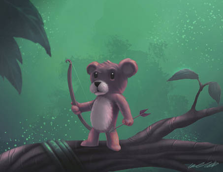Teddy Bear the Protector