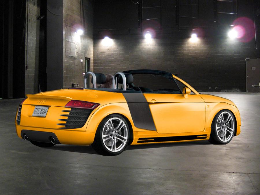 Audi tt 8n rear virtual tuning by psykomysik on deviantart for Audi tt 8n interieur tuning