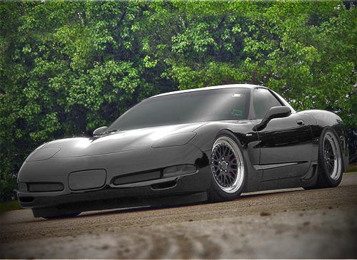 corvette c5 black tuning by psykomysik on deviantart. Black Bedroom Furniture Sets. Home Design Ideas