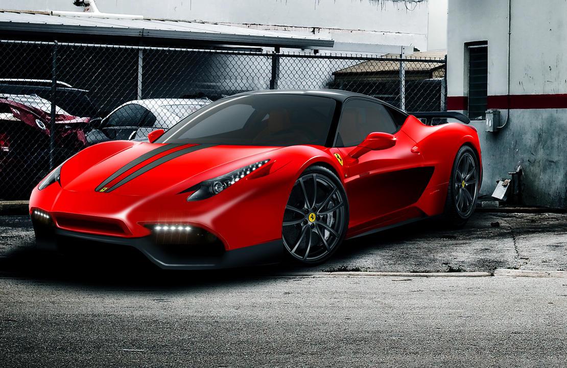 Ferrari 458 Italia Scuderia by psykomysik on DeviantArt