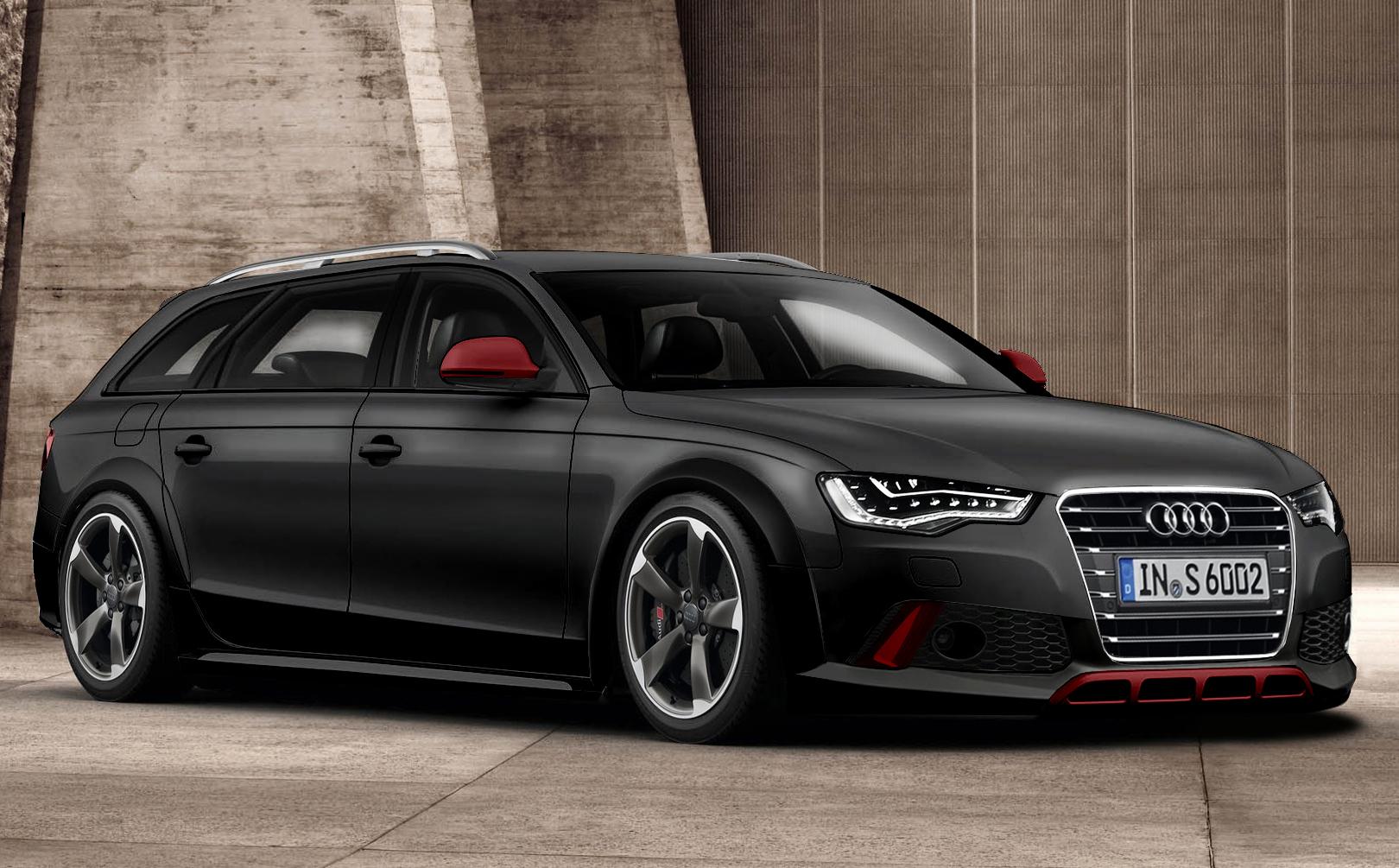 Audi A4 2013 Allroad Rs6 Red Black By Psykomysik On Deviantart