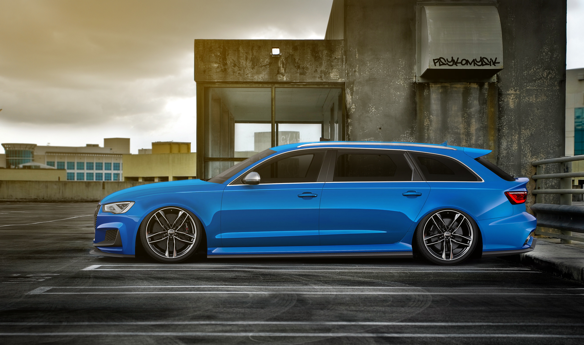 Audi rs4 wagon 16