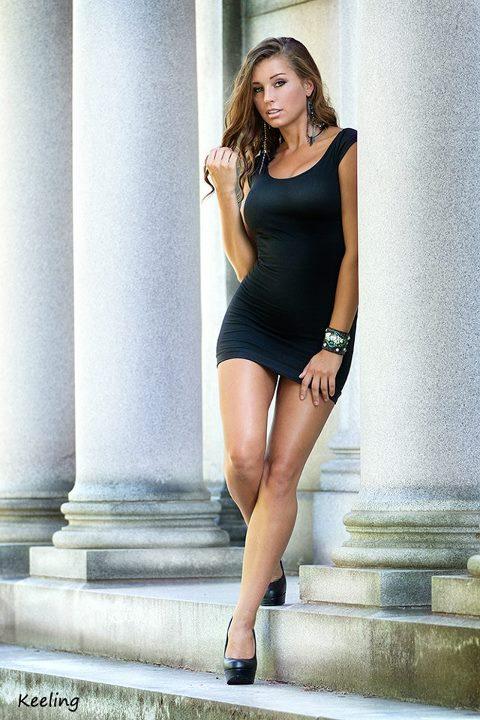 little black dress by KeelingPhotography