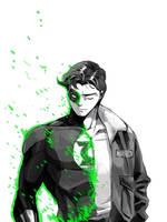 DC: Hal Jordan by dwandwan
