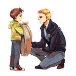 DC:  Barry and kid Hal