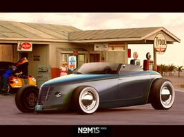 Custom Hotrod Concept by NOM15