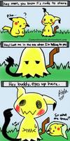 Mimikyu's Eyes (Comic)