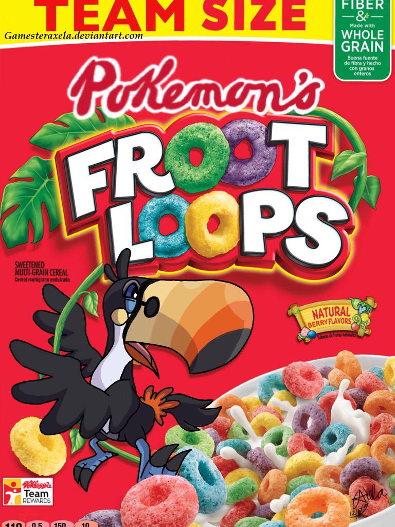 Alolan Cereal #1: Toucannon Sam