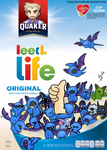 Commission: Leech Life Cereal