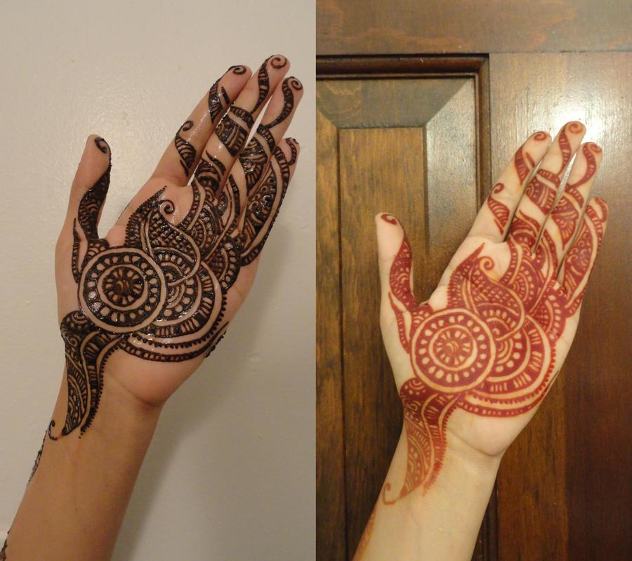 Aug 2011 eid henna by a w0man on deviantart for Henna tattoo shop