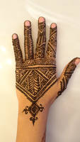 Fessi Moroccan Style Henna