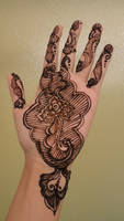 Fish Bones Henna