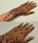 Geometrical Henna