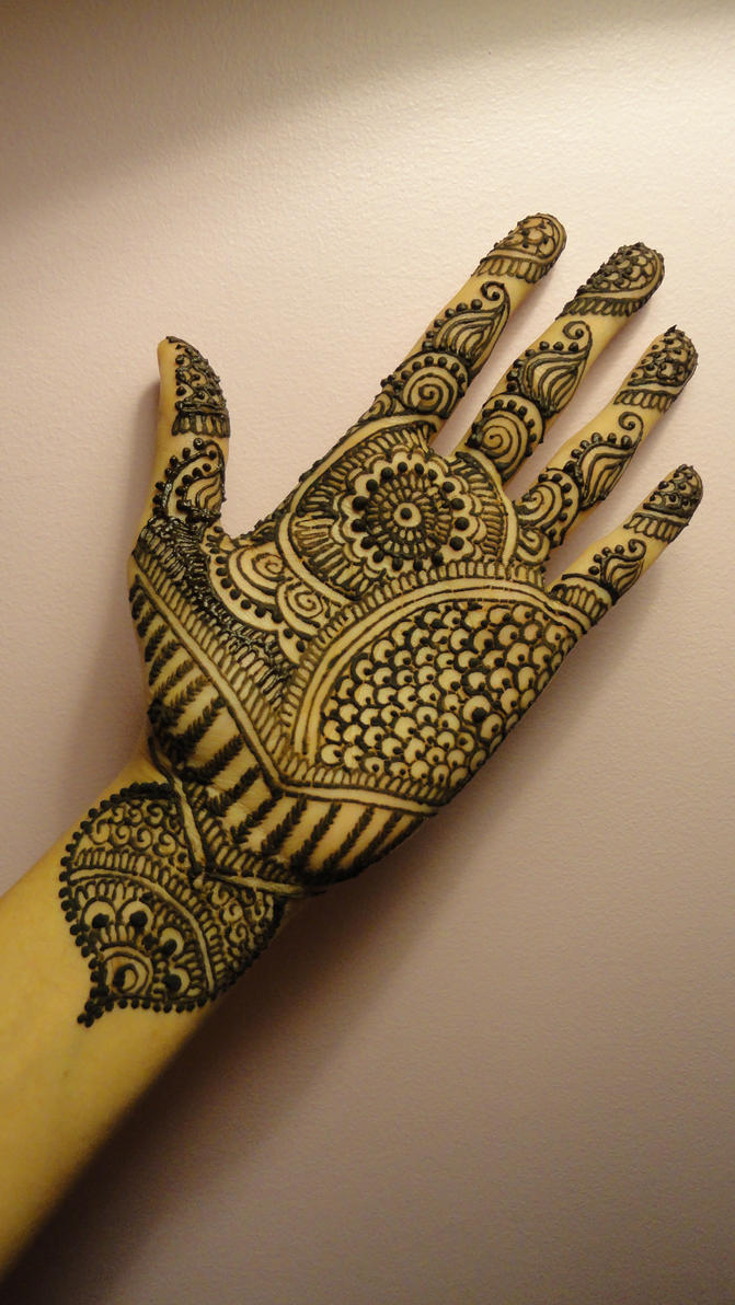 Hand Henna Tattoo Picture 5