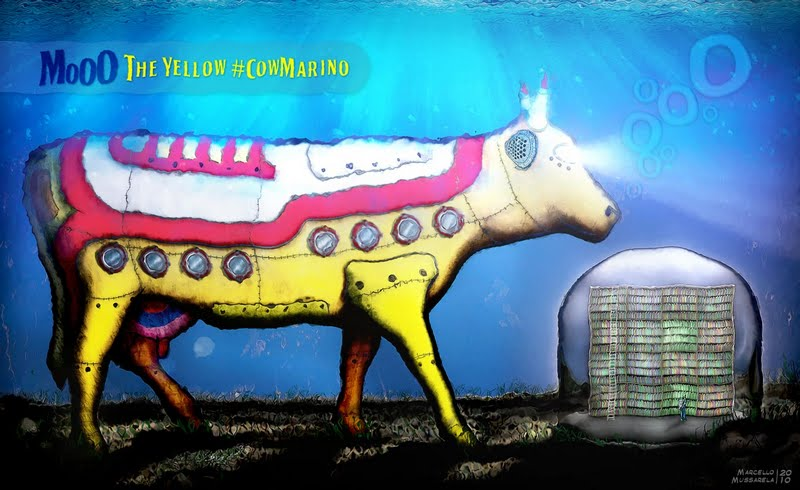 Mooo - The Yellow CowMarino by mussarela