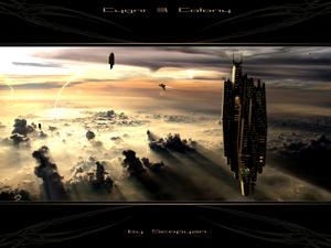 CYGNI B COLONY by scorpyan