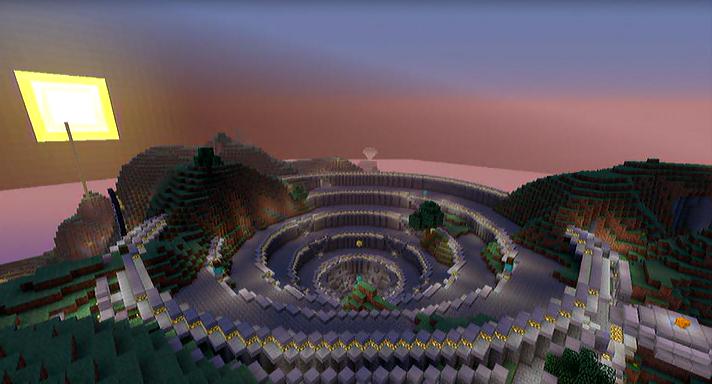 Minecraft Hunger Games Colosseum By OMGitsXDZ On DeviantArt - Minecraft hunger games auf deutsch