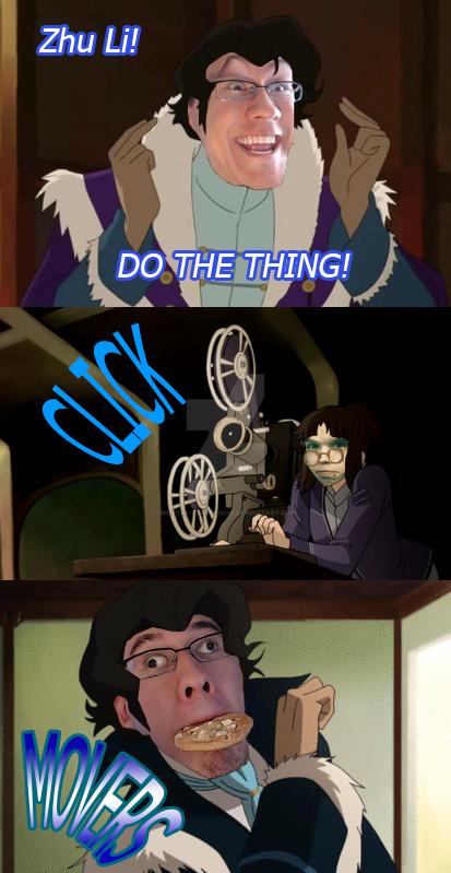 Do the Thing, Zhu Li! by Nozomi-Yuri-Tenchi
