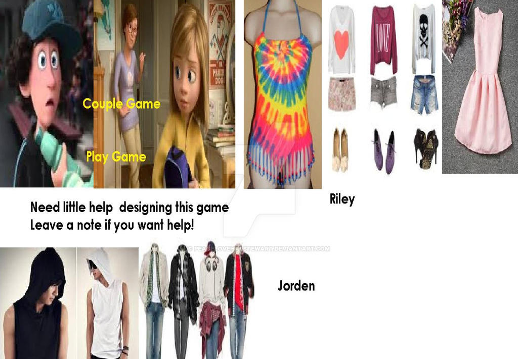 Riley and Jorden Fashion by peacelovehalstewart
