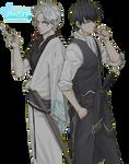[Render #1] Gintoki and Hijikata - Gintama