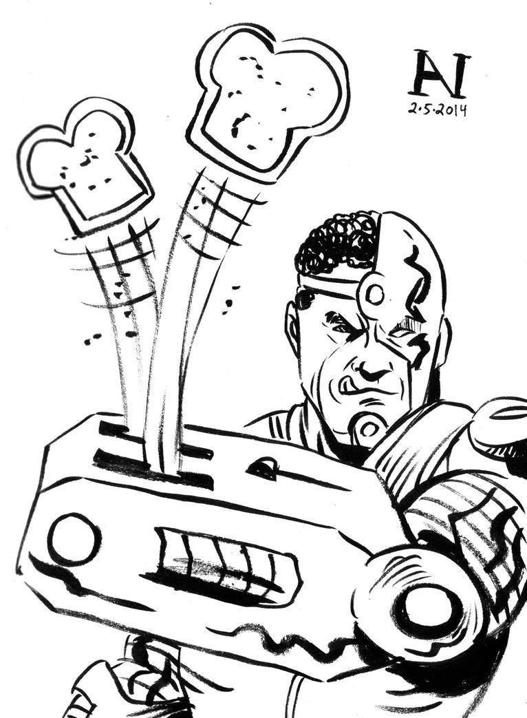 Cyborg by IanJMiller