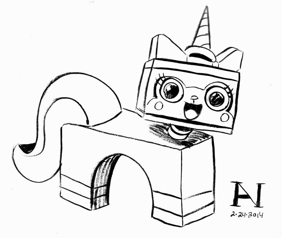 Princess unikitty coloring pages - Princess Unikitty By Ianjmiller