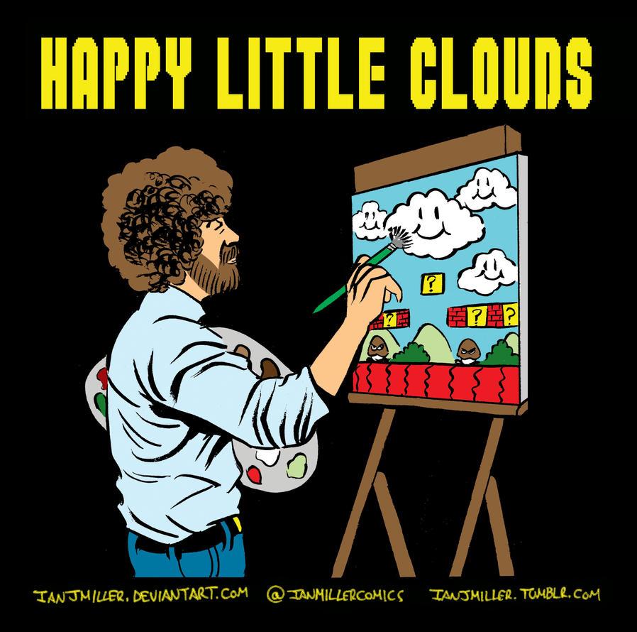 Happy Little Clouds by IanJMiller on deviantART