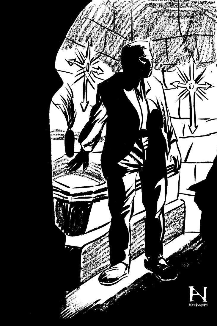 Boris Karloff by IanJMiller