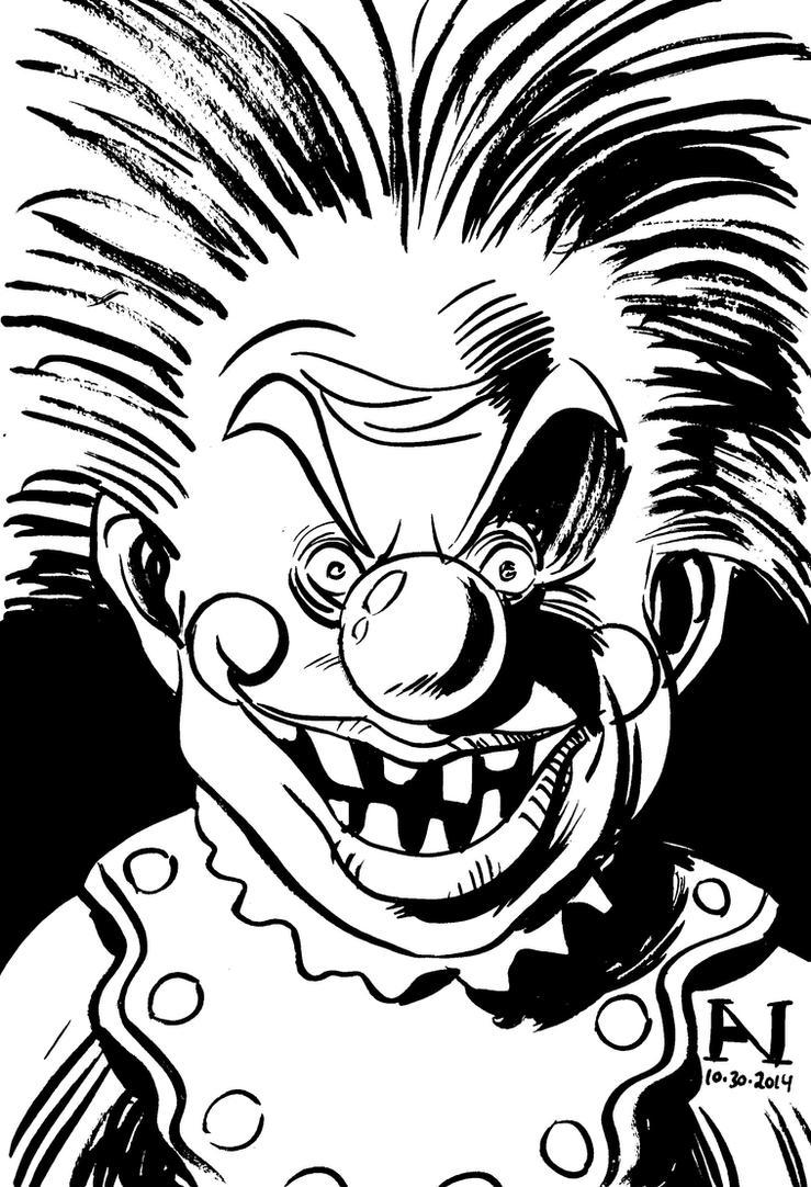 Killer Klown by IanJMiller