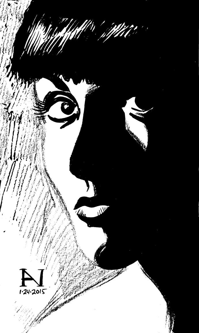 Facial Shadow Study by IanJMiller