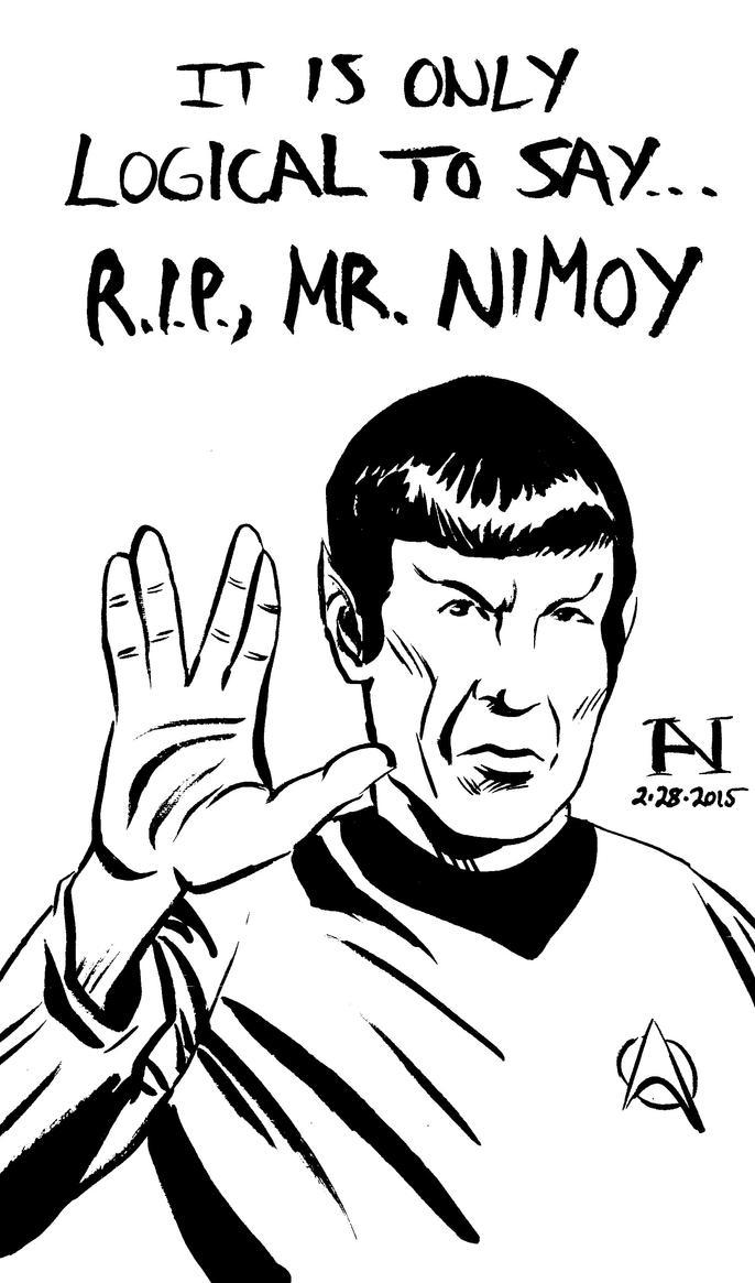 Spock by IanJMiller