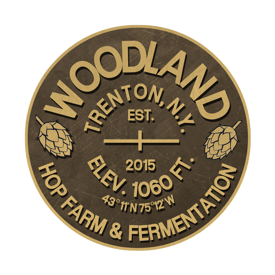 Woodland Hop Farm Logo by IanJMiller