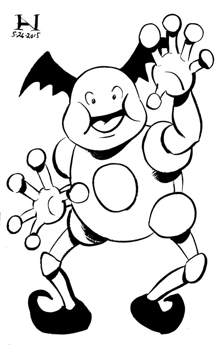 Mr. Mime by IanJMiller