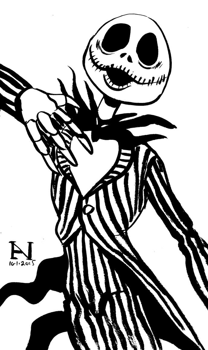 Jack Skellington by IanJMiller