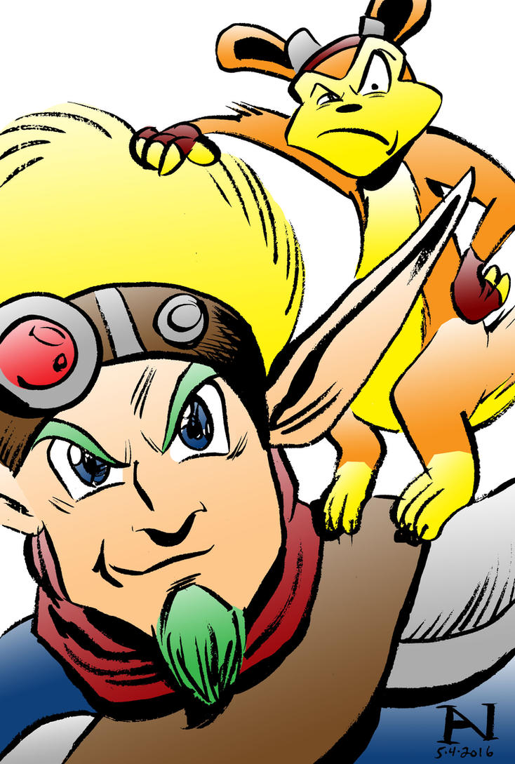 Jak and Daxter by IanJMiller