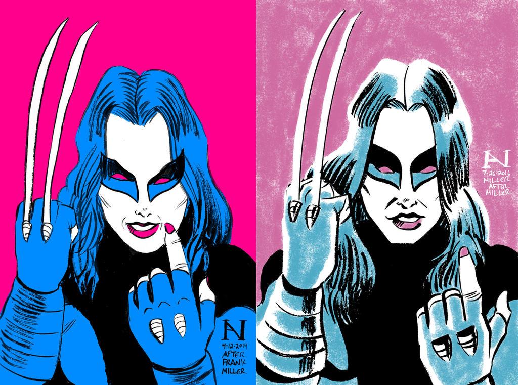 X-23: Then vs. Now by IanJMiller