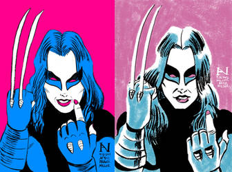 X-23: Then vs. Now