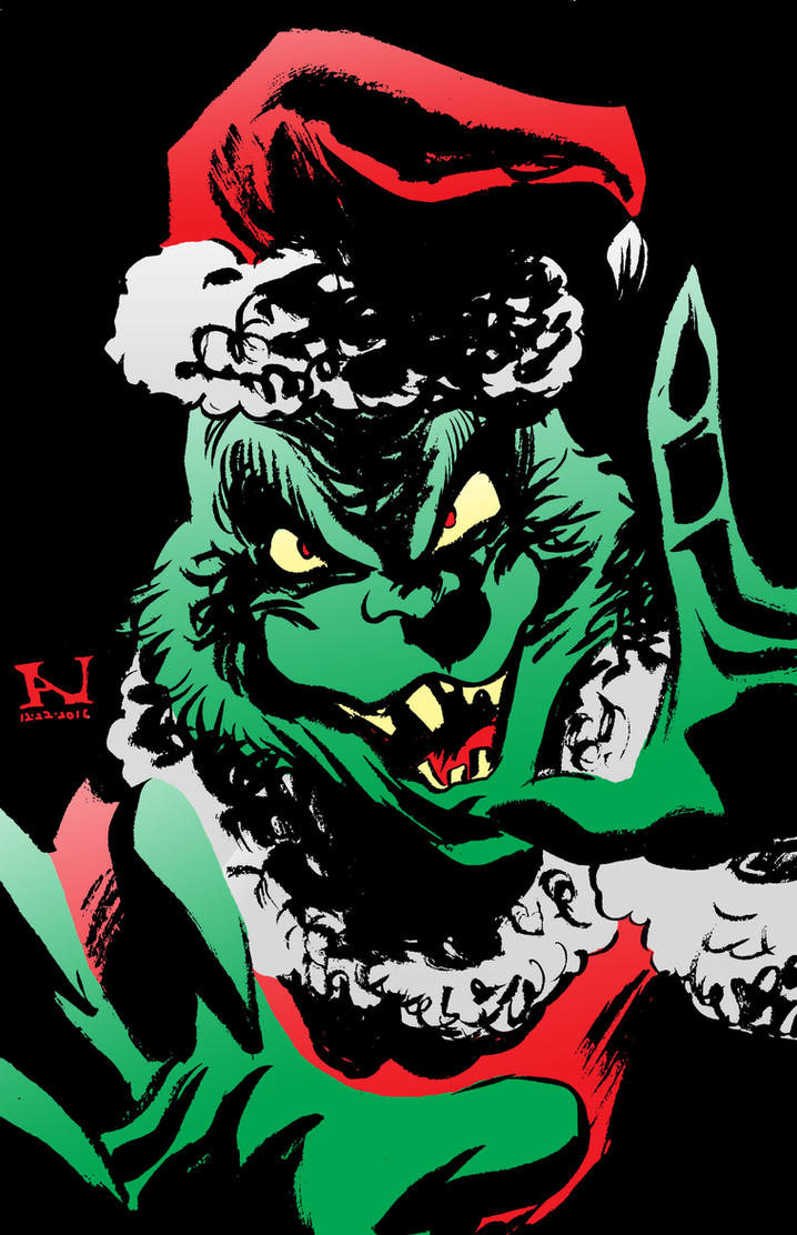 The Grinch by IanJMiller