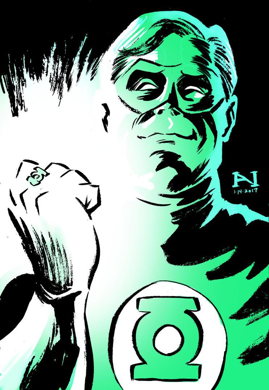 Green Lantern by IanJMiller