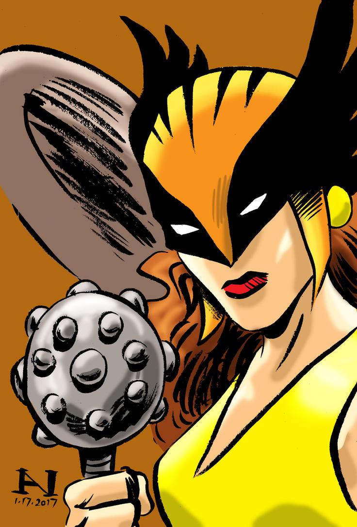 Hawkgirl by IanJMiller