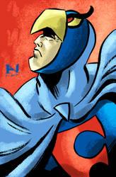 Blue Falcon by IanJMiller