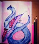 Techno-dragon by Kaila-Shed