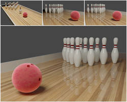 3DWorks 03 - Bowling Pins