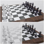 3DWorks 05 - Chess Set